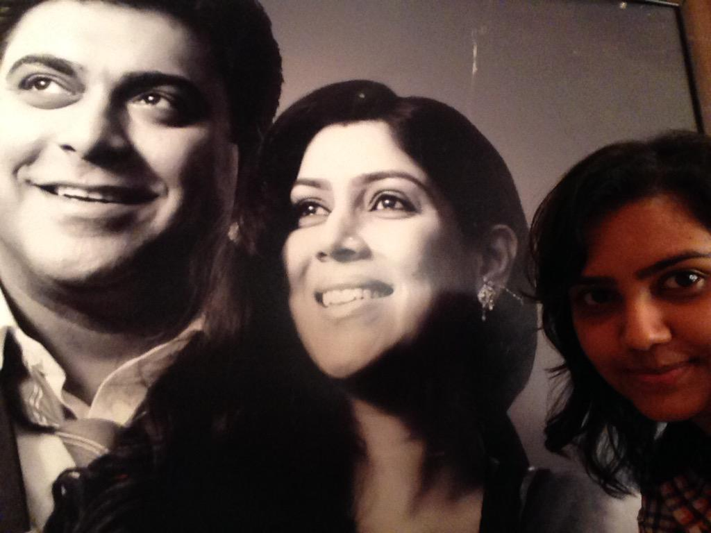 30.05.2011. #BALH Happy Anniversary guys! You all made it more special for all of us. Thanks a ton. Weird selfie. :P http://t.co/E2mN63rdmq