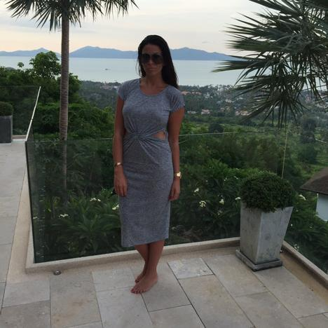 Absolutely in LOVE ❤️ with this Grey Tie Knot dress from http://t.co/FyogUHsyge #holiday #thailand http://t.co/CV2KdbIykk