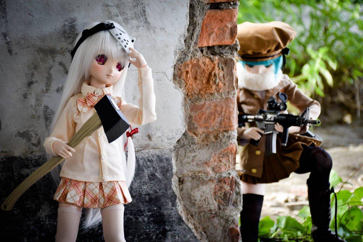 以下の写真はお客さんの同意、そして転載のものです。~ ^^ 「ジェイソンのマスクと斧(限定品)は日本に販売の可能性がある、現時点は検討中~ ^^ 」 http://t.co/TmEnHvbNZi