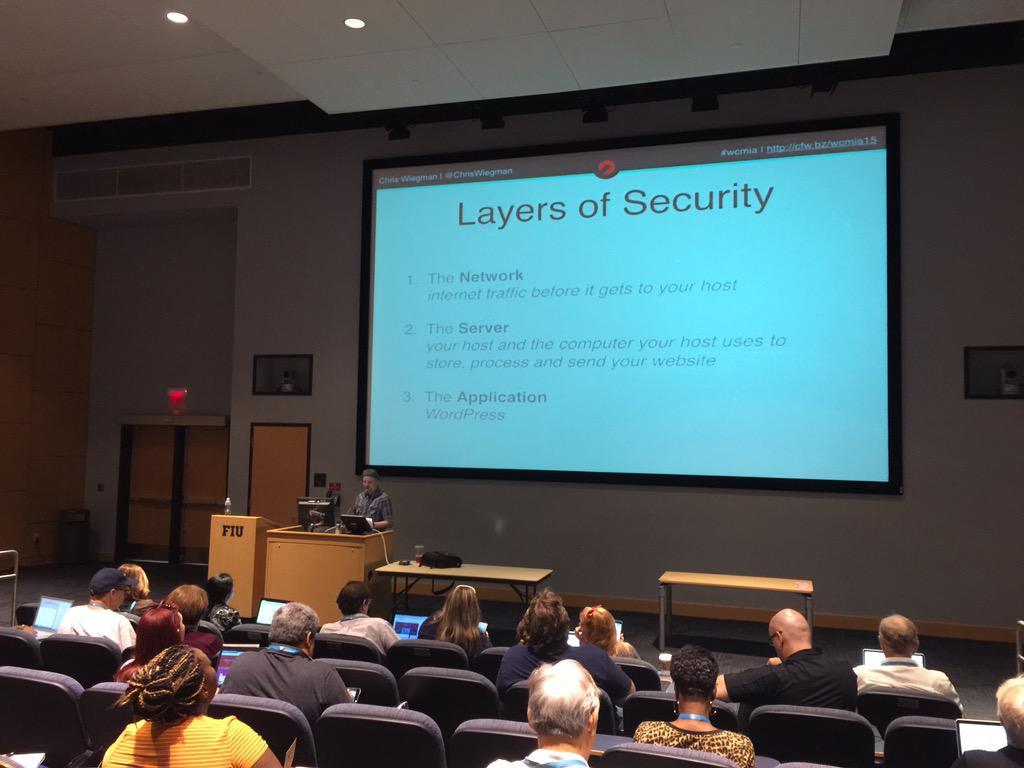 Thumbnail for Chris Wiegman, How to Further Secure Your WordPress Site: WordCamp Miami 2015