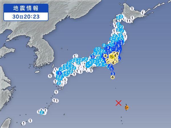 日本列島ごと揺れたね。 http://t.co/bztxmBUi4t
