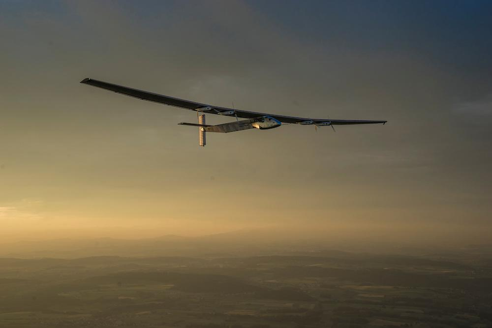Solar-Powered Airplane Is About To Make History