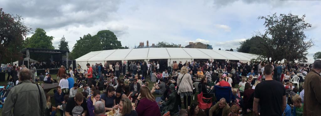 RT @k_hol: Great atmosphere at the final day of the Delapre Beer Festival. People are queueing just to get in! @JCarpenter82 http://t.co/kC…