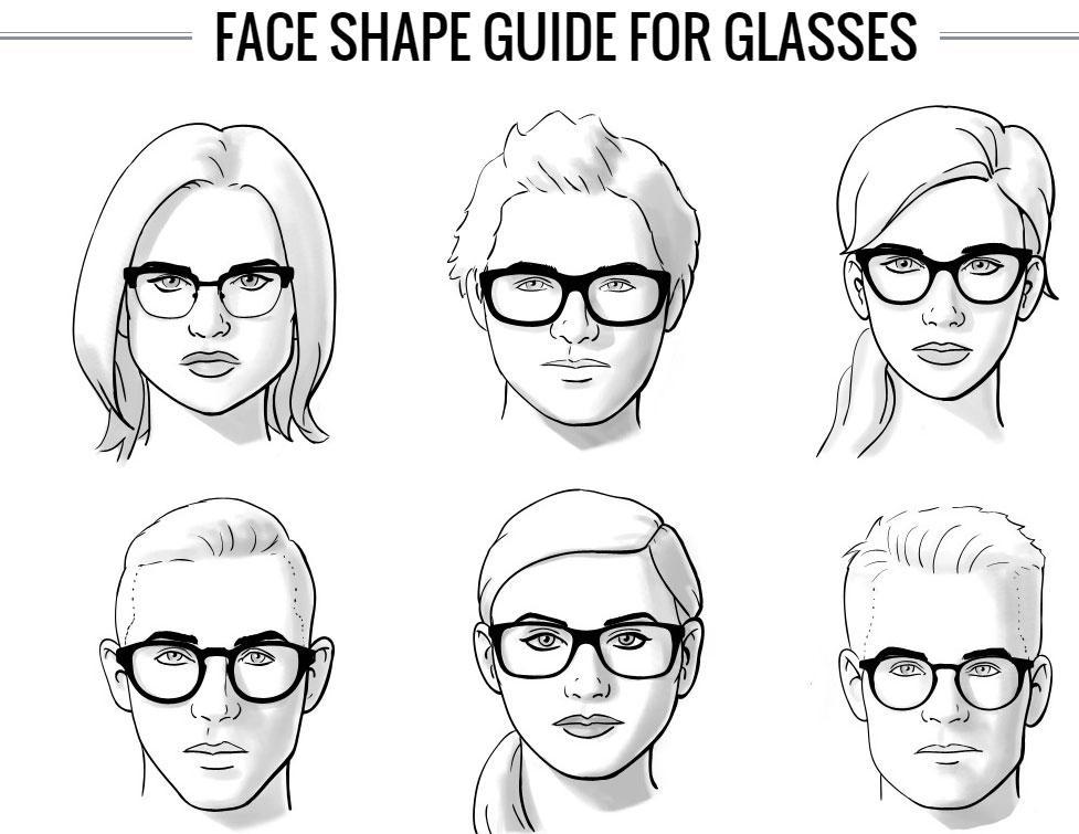 كيف تختار النظارة المناسبة بحسب شكل وجهك
