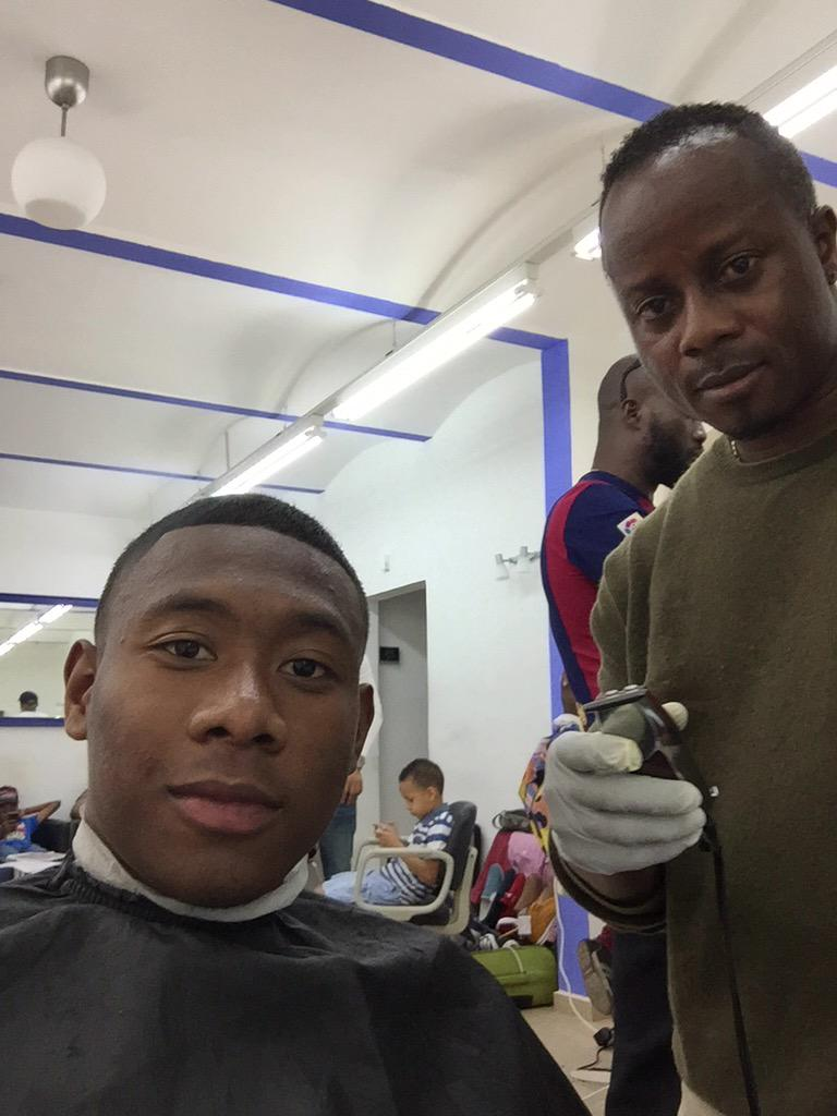 David Alaba On Twitter The Best Barber In Townmr Sidney Thanks