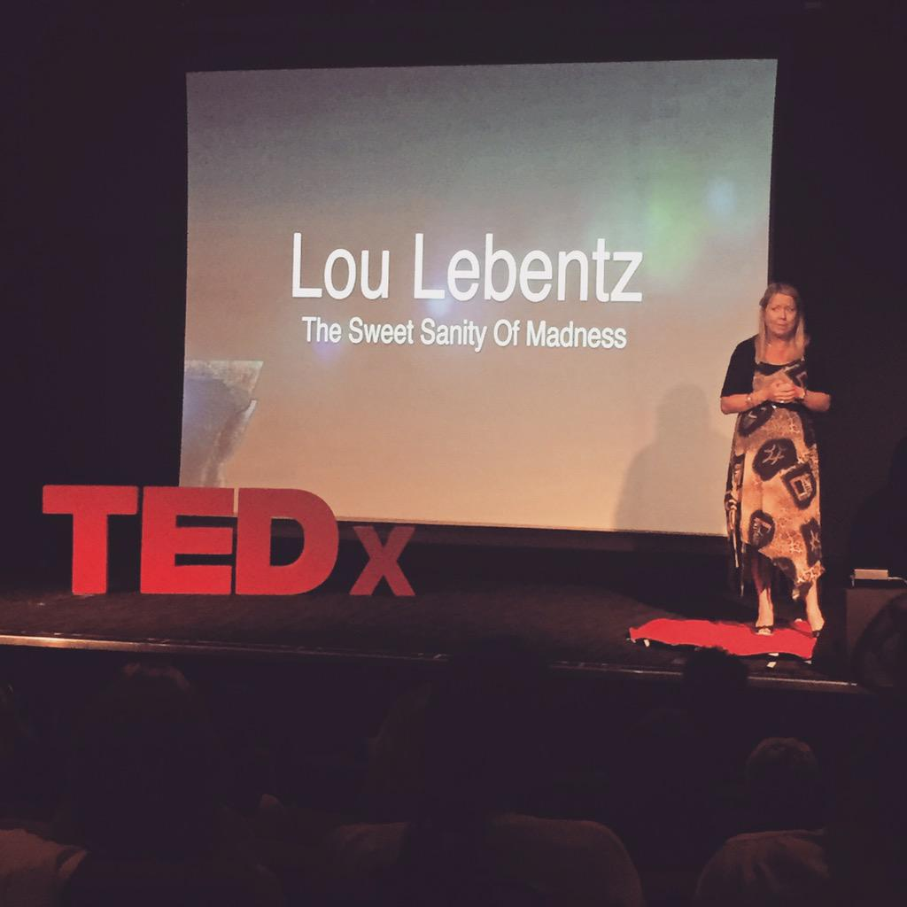 So proud after watching @loulebentz do her  @TEDTalks You all need to hear her story! She truly is an inspiration. ❤️ http://t.co/T9kkJ6t1R1