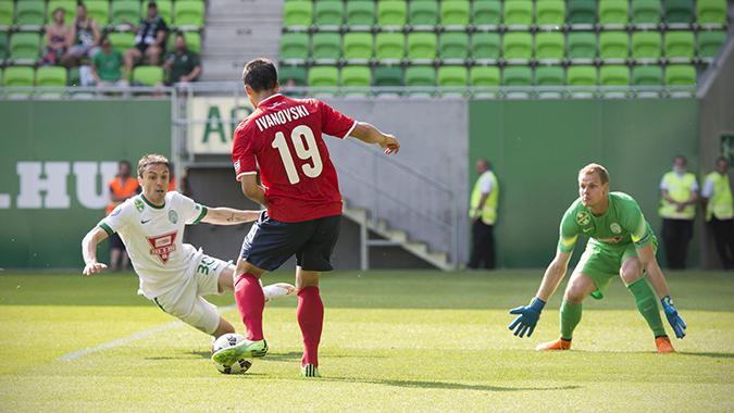 Ivanovski looks to make a pass
