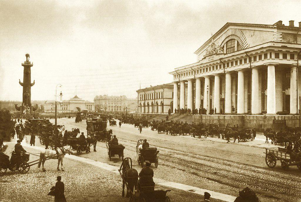 Старый петербург картинки, февраля