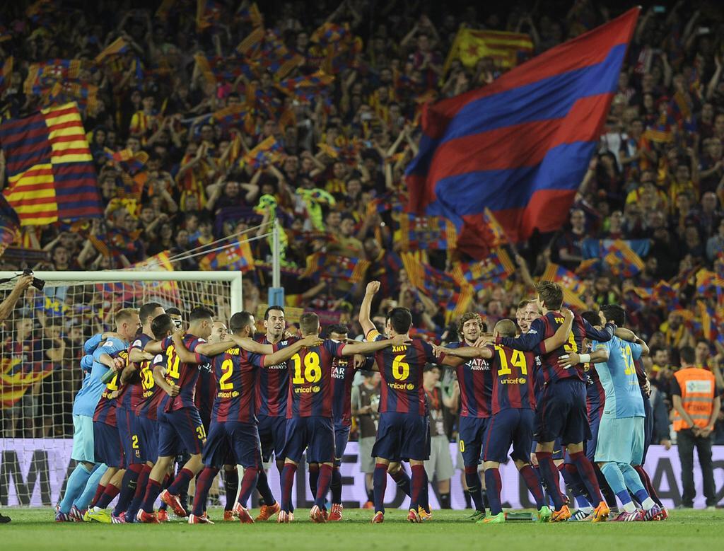 ..::[FCBK] FC Barcelona Kaskus Temporada 2015/2016::.. #6raciesXavi #TRIPL3T