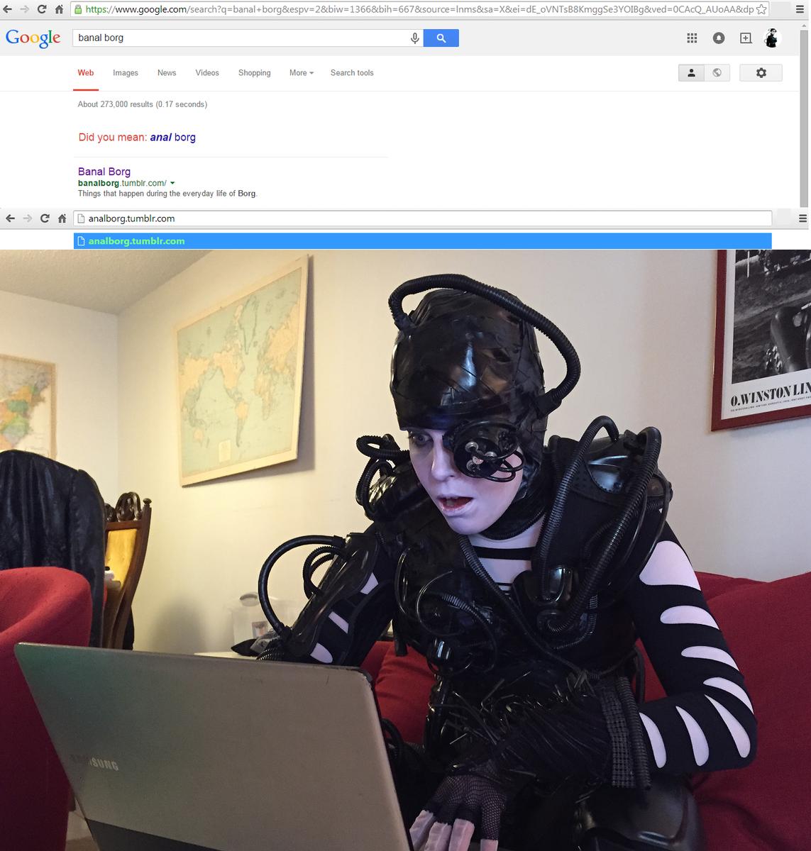 "Baby Porn Tumblr riker googling on twitter: ""borg porn ass-imilation"""