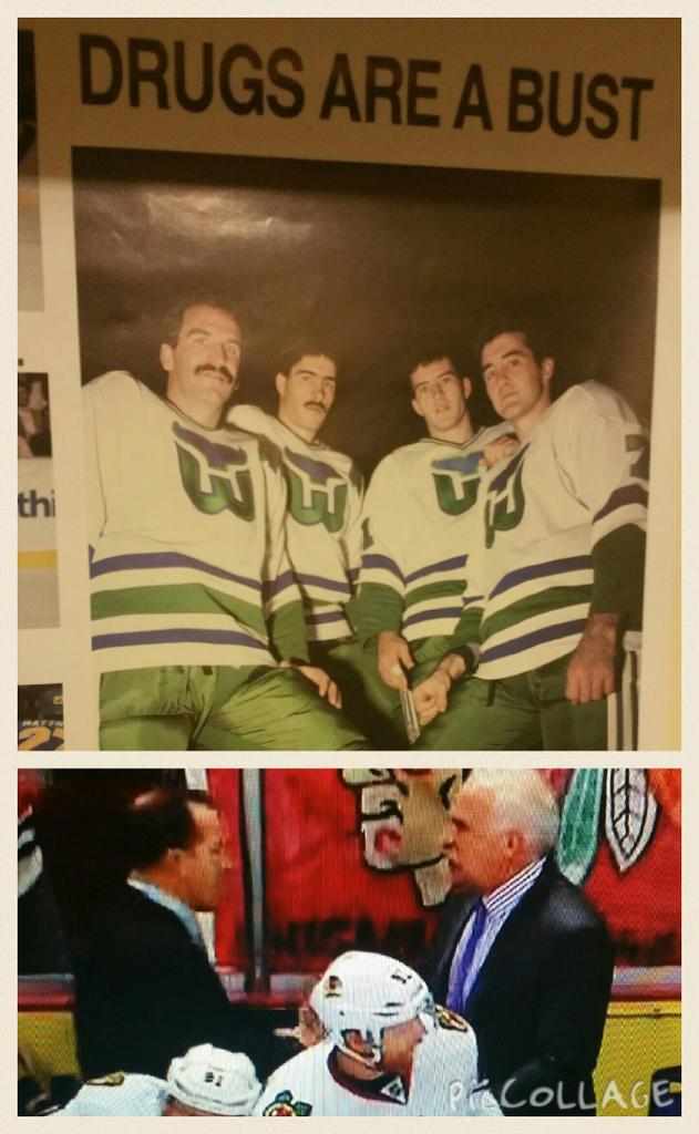 Dinnen and Quenville together again! Congrats Whalers fans! @WhalerWatch  @kdino9 #DineenDeservesTheCup #nhl # Hawks http://t.co/vnGMa8nLN1