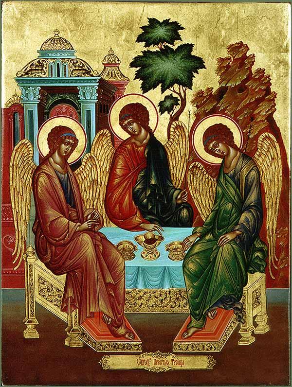 Троица святая картинки, пасхой картинках