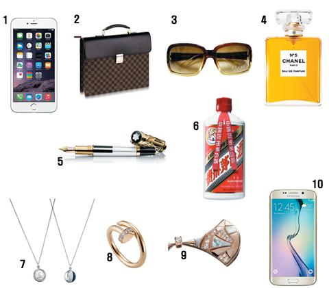 중국 부자들이 좋아하는 브랜드 (남성 기준) 1 애플 2 루이뷔통 3 구치 4 샤넬 5 몽블랑 6 마오타이 7 에르메스 8 카르티에 9 불가리 10 삼성 http://t.co/a0mINrugnc