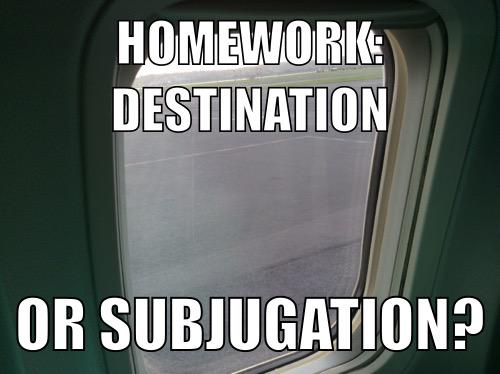 #aussieEd A1 There haven't been many times I can recall homework getting me somewhere I wanted to go. http://t.co/r3n0HxAWwA