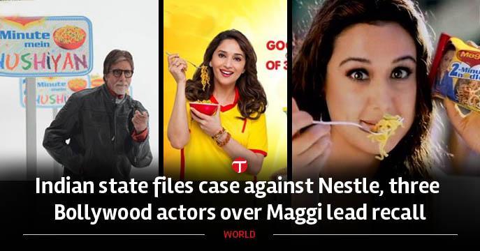 """Nestlé accusata in India per piombo in tagliatelle """"MAGGI"""""""