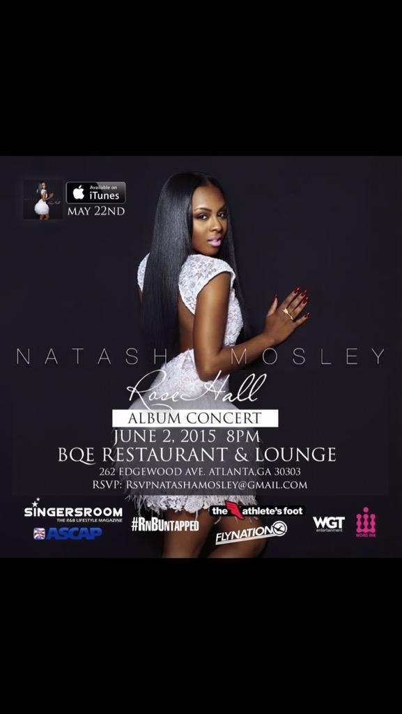 Natasha Mosley Rose Hall Album