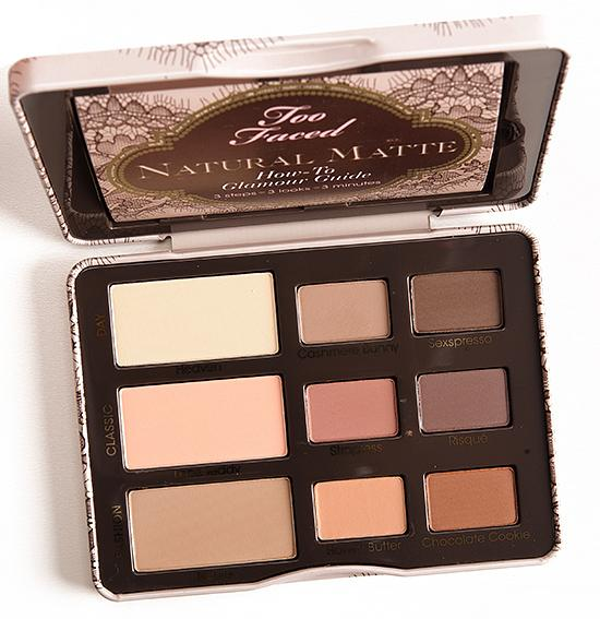 Too Faced Natural Matte Eye Palette Review Temptalia