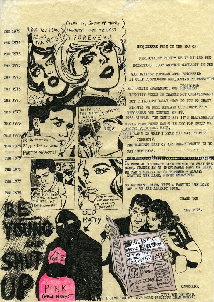 The 1975 Comic