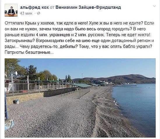 Россияне отказались жертвовать здравоохранением ради аннексированного Крыма, - опрос - Цензор.НЕТ 7524