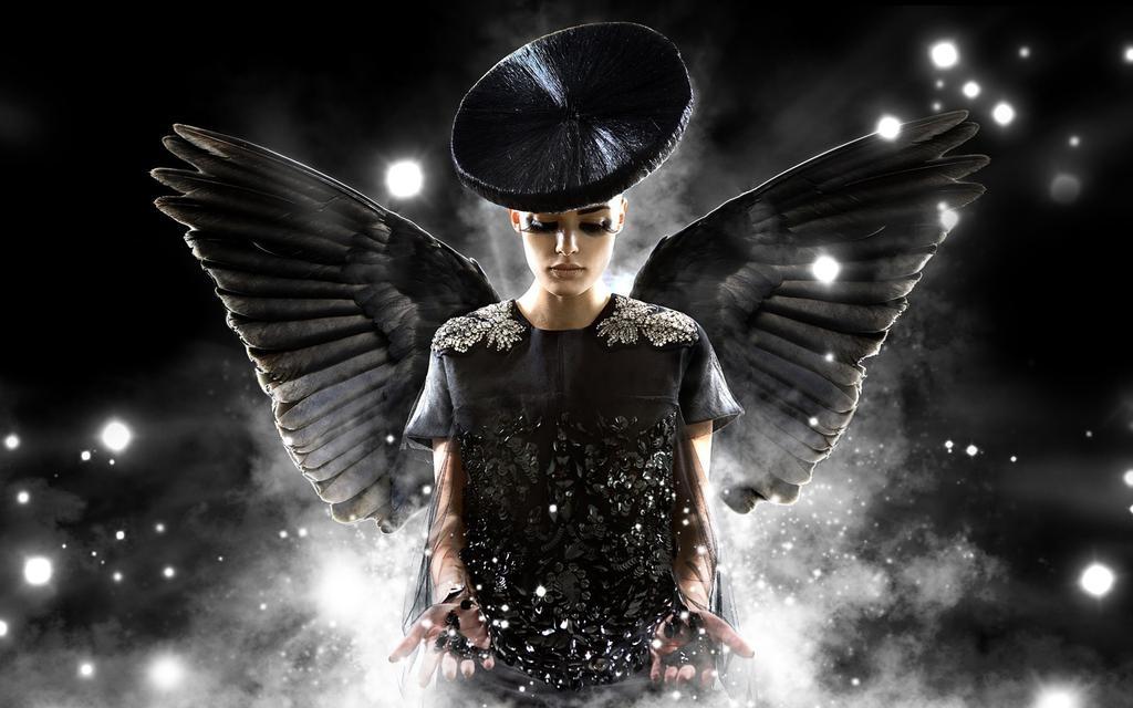 Imagini pentru black woman angel
