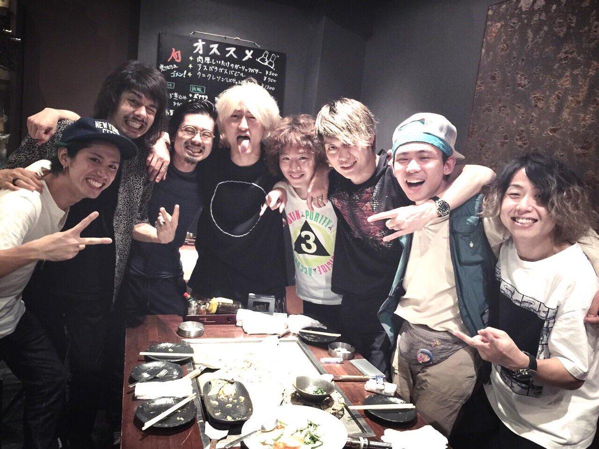 ONE OK ROCKとOKAMOTO'S!広島の最高な打ち上げ! #サウシュー  #oneokrock  #OOR  #広島