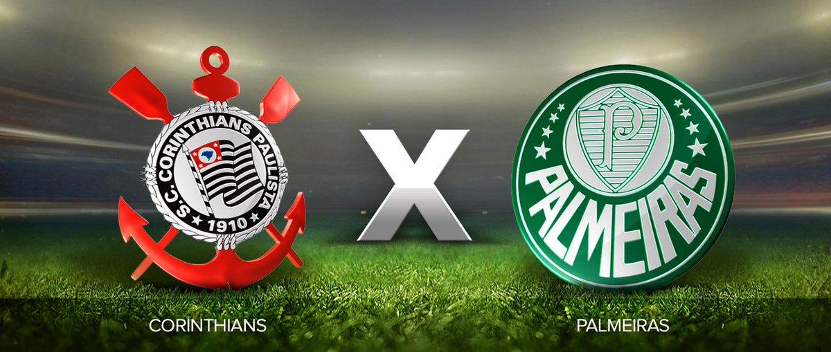 TEMPO REAL  Corinthians e Palmeiras se enfrentam para espantar a crise  http    f2c86b84312