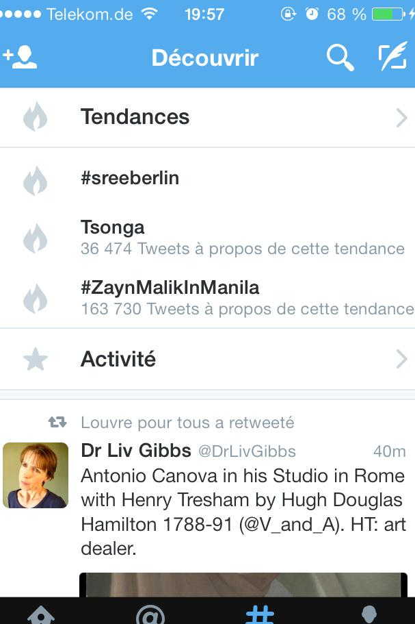 We MADE IT! Less than an hour in, #sreeberlin is now trending @WeAreMuseums #wam15 http://t.co/r0yIEQTnq3