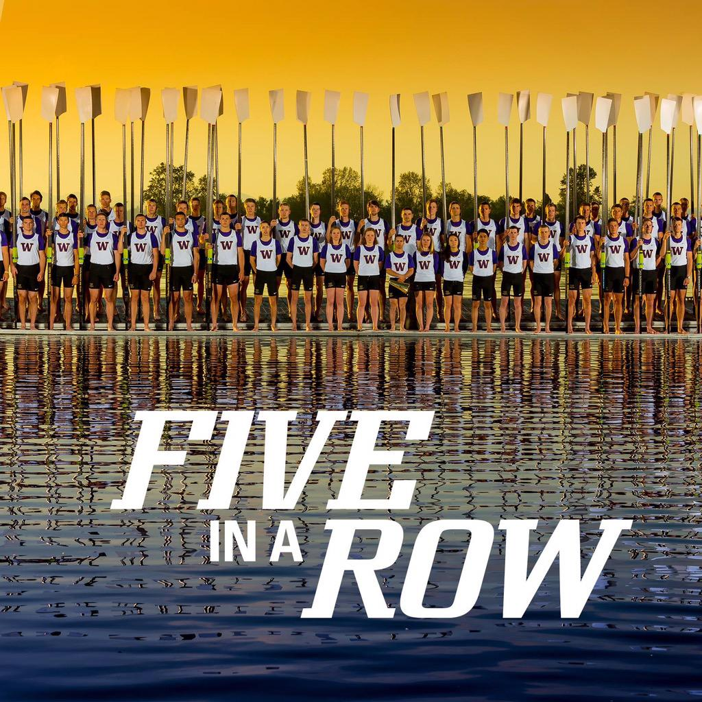 Amazing! @UWHuskyCrew FIRST collegiate team to win 5 straight National IRA  titles (7 of last 9) #proud http://t.co/poTf8nbqPE