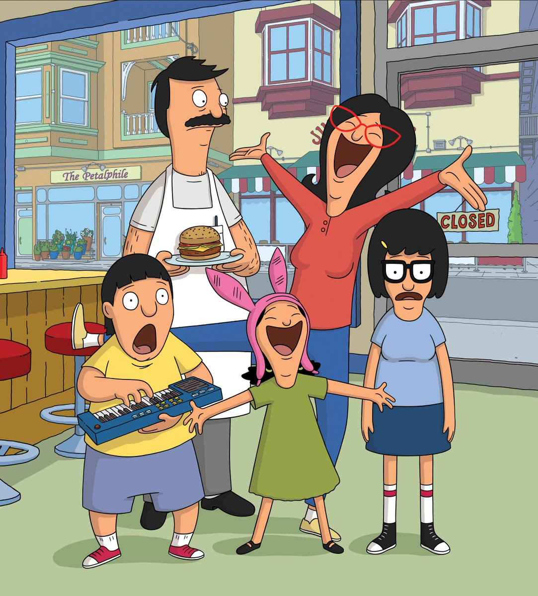 Bobs burgers on twitter lets hear it for bobsburgers being nominated for best animated series at the criticschoice tv awards tonight
