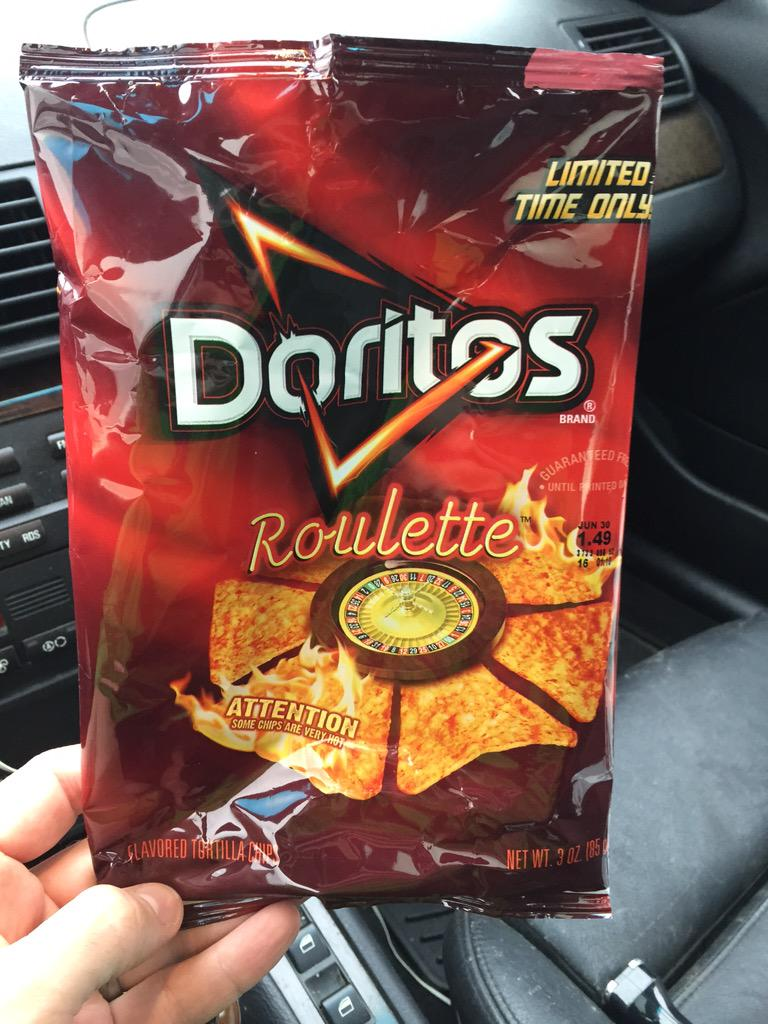 I walked away a big winner... cc @Doritos http://t.co/fxjOPvr9aH