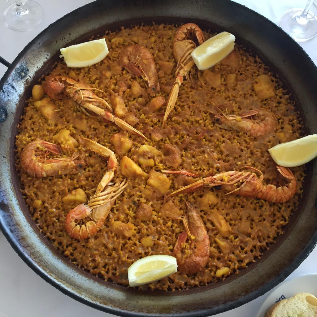 Paella was invented in Valencia