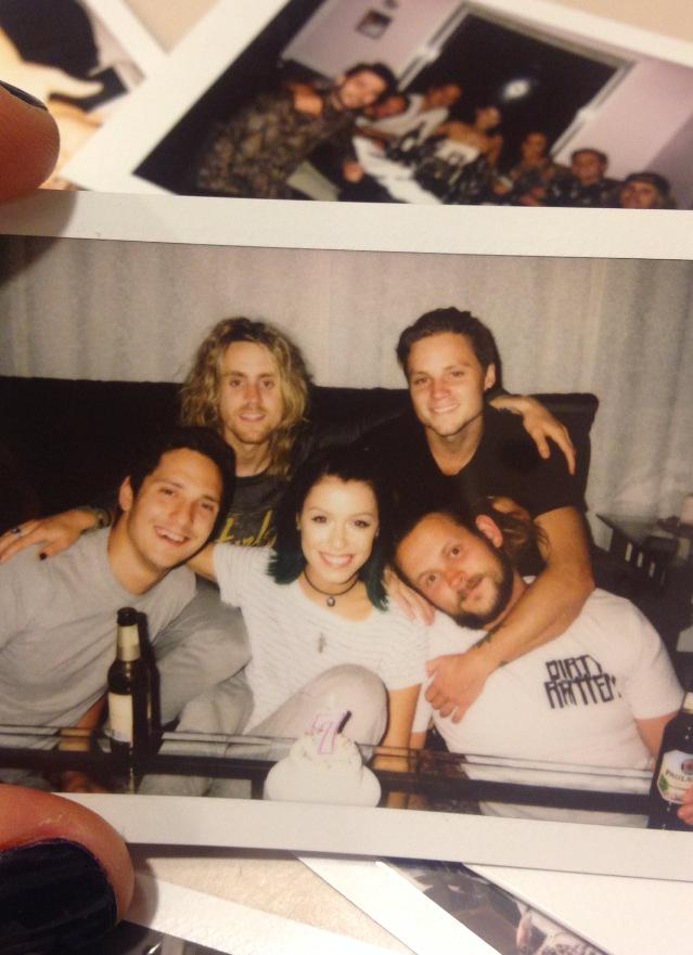 7 years of Tonight Alive! Love & thanks to everyone supporting us.. The best is yet to come x J, W, M, C & J http://t.co/NuzfoquXBe