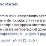RT @ilmerdone: #M5S e #Grillo annunciano l'ennesimo trionfo e,prevedibilmente,si sfilano da qualsiasi responsabilità. #Regionali2015