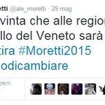"""RT @MPenikas: Elezioni regionali 2015, su Alessandra Moretti """"asfaltata"""" in Veneto si scatena…"""