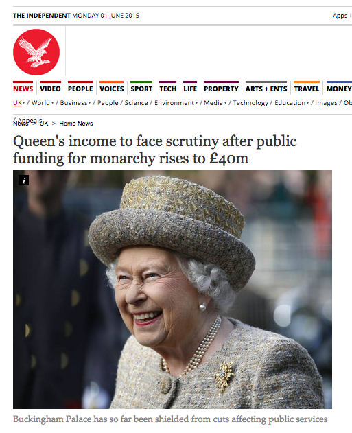 Maybe the government's right to cap benefits. For instance, this woman received over £40m in benefits from the state. http://t.co/HXVWrAMwRM