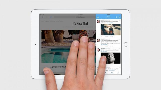 WWDC15: Split view sarà disponibile solo su iPad Air 2