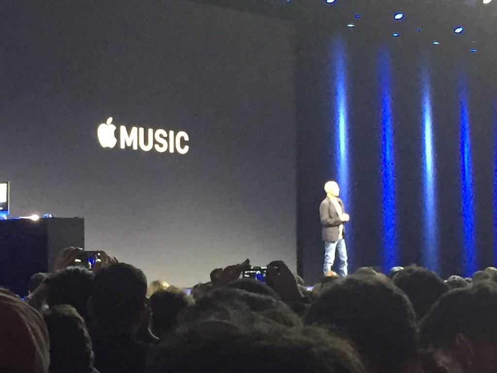 Jimmy Iovine on stage to talk Apple Music (Source: Aaron Tilley)