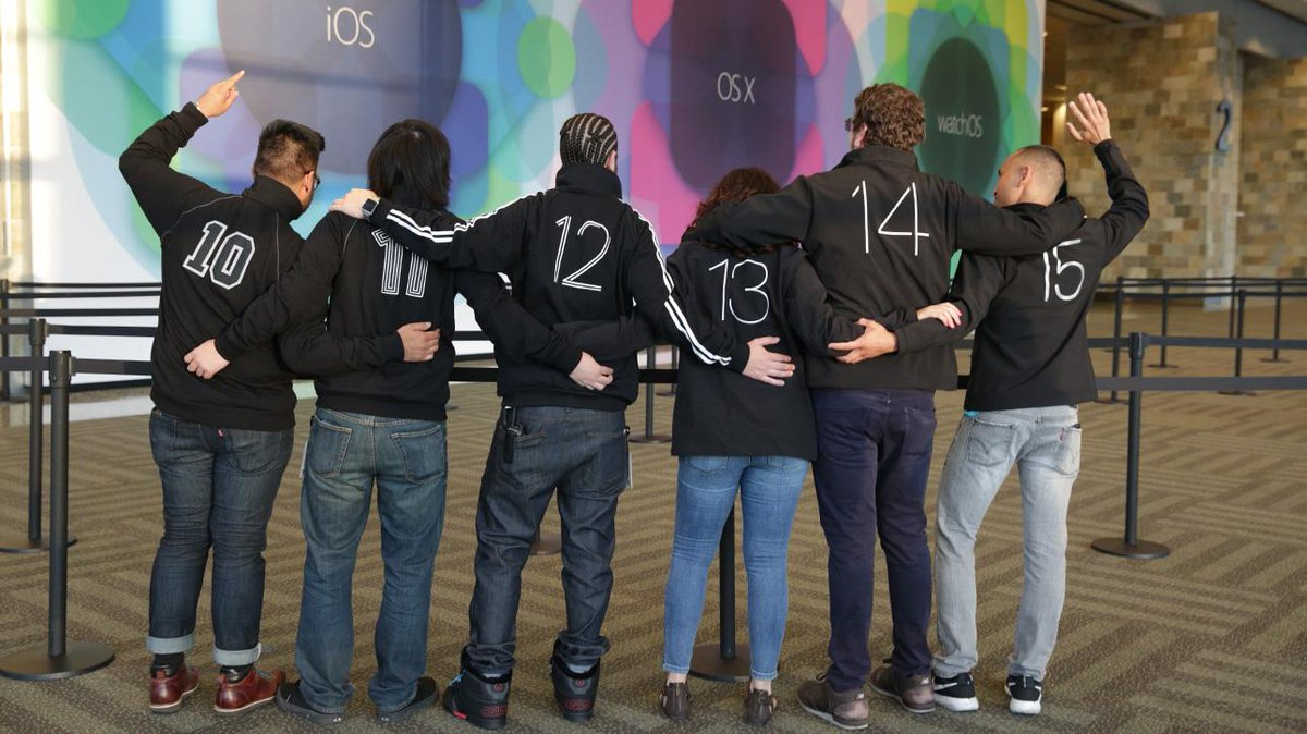 This photo is pretty cool! #WWDC15 http://t.co/G9tmPlB8rb