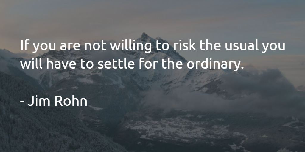 Take the Risk. http://t.co/3moJLWzlek