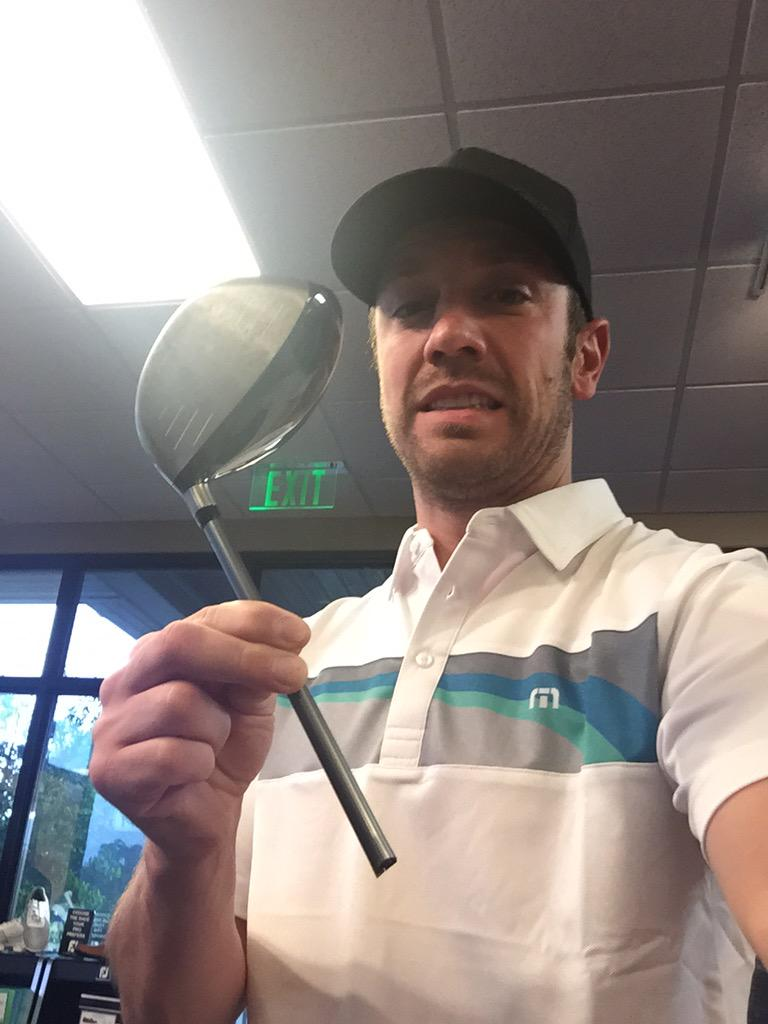Wish I could say I'm crushing my drives like Dustin Johnson but that would be a lie.  #fedexstjudeclassic #proAM http://t.co/LPIRtvzYnk