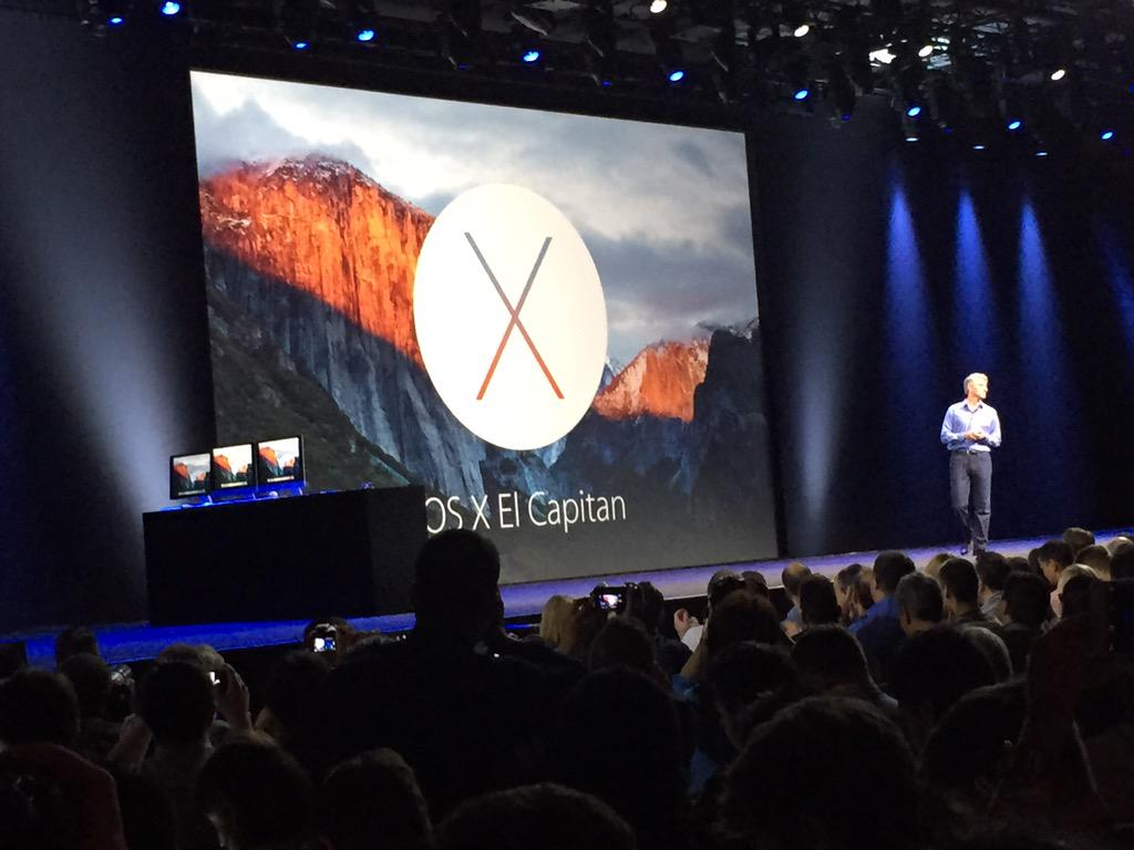 New OS X El Capitan (Source: Aaron Tilley)