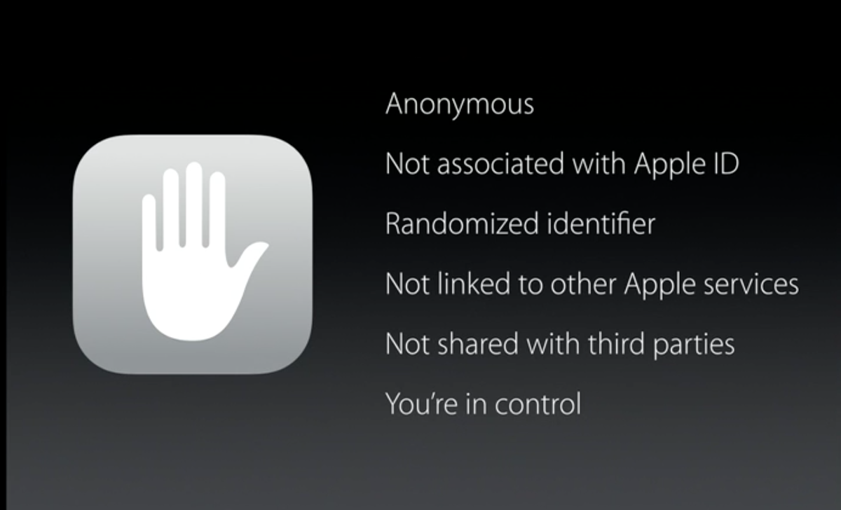 This is, no joke, so important. Apple makes money from selling you hardware, NOT by selling your data. http://t.co/4sXyiZlDzu
