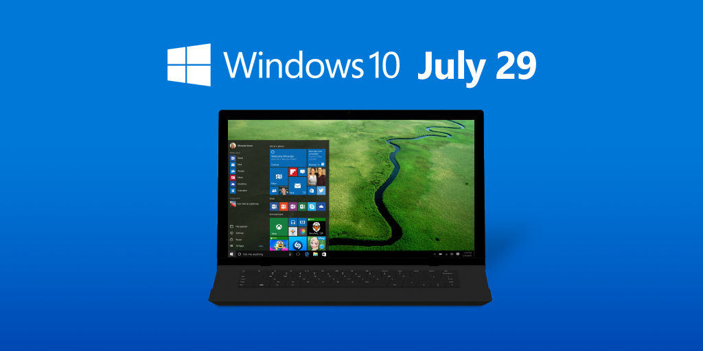 Summer just got an upgrade. #Windows10 will release worldwide on July 29, 2015: http://t.co/P9EJ1xd5hK http://t.co/8mmG40QVu3