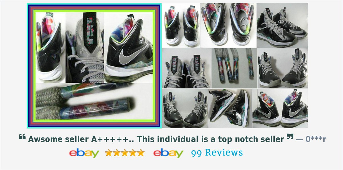 separation shoes 9e49a e608e ... ebay.com itm Nike-Air-LEBRON-X-PRISM-BLACK-STRATA-GREY-WHITE-BLUE-Sz -8-5-541100-004-JORDAN- 151693367714 pt LH DefaultDomain 0 hash item2351a119a2  … ...