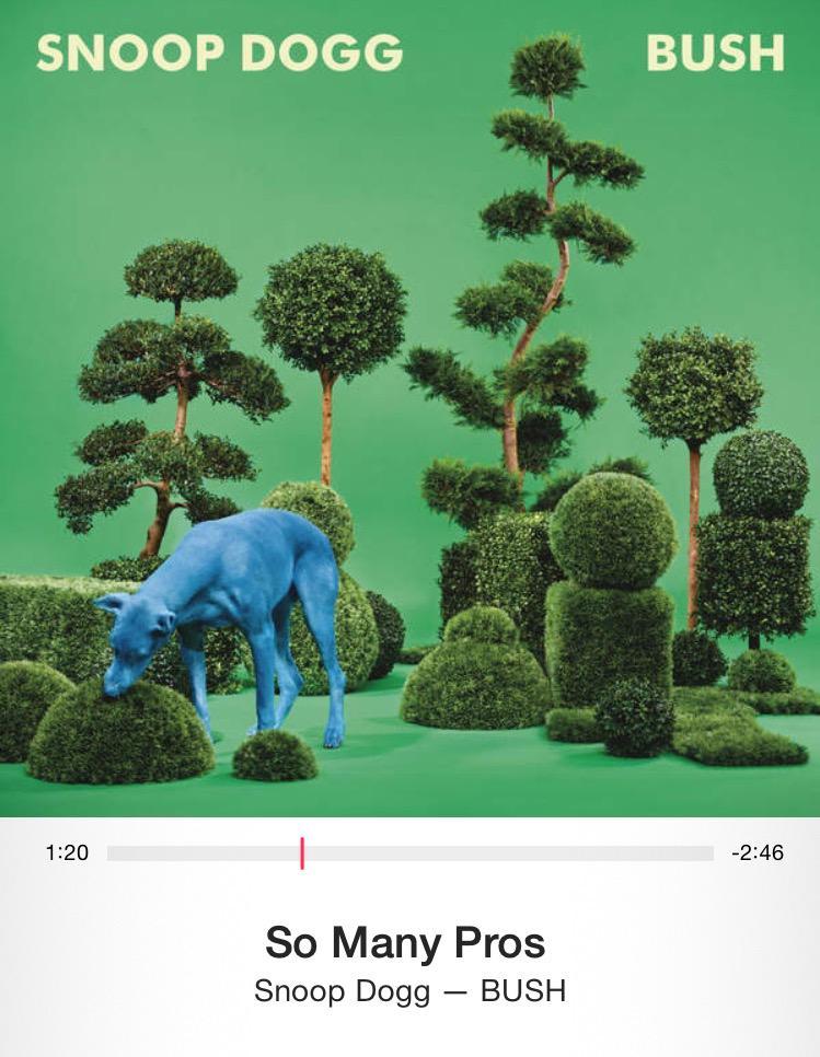 Morning anthem. #snoopdog #BUSH http://t.co/8BYFTs23h9