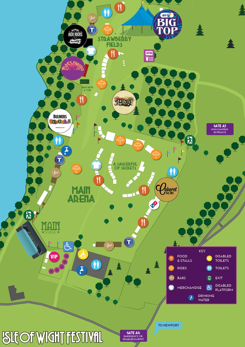 how to get to isle of wight festival