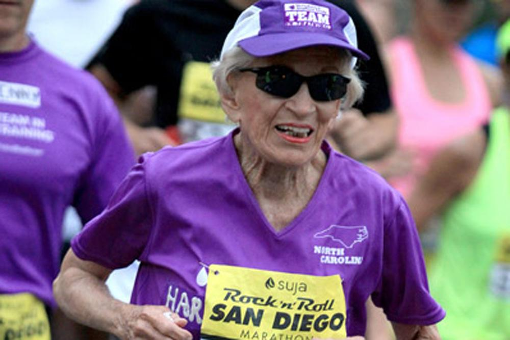 You go, grandma! Harriette Thompson, 92, becomes oldest marathon finisher: http://t.co/fSYH5JQQZ2 via @runnersworld http://t.co/92zCVuPeEP