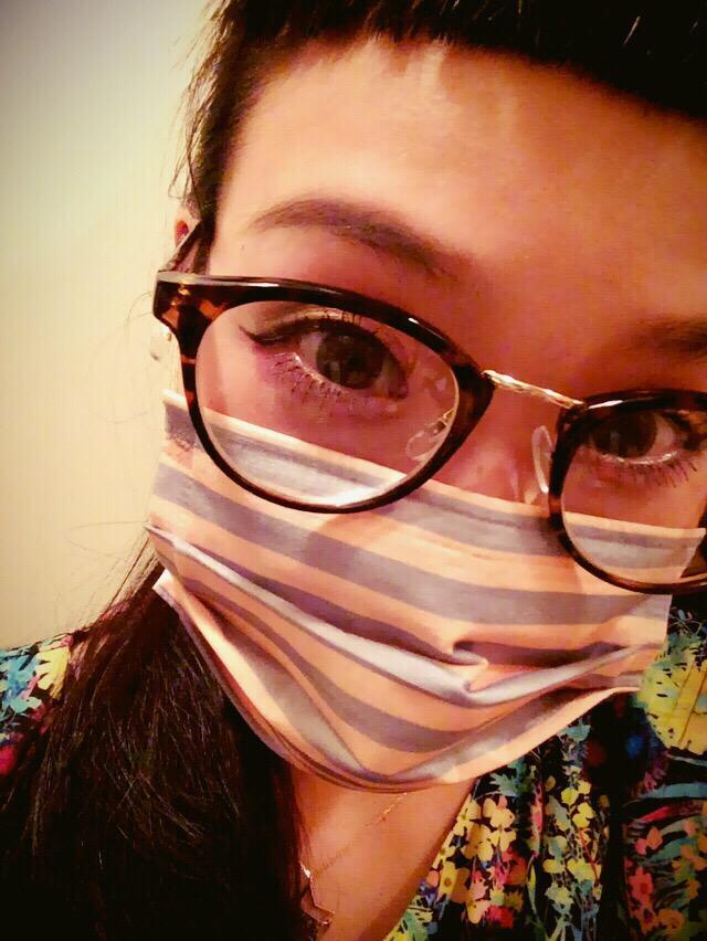 眼鏡だし頭ボサボサだし前髪短いしマスクシマシマだけど東京に着いたよ。また行くね大阪ァア