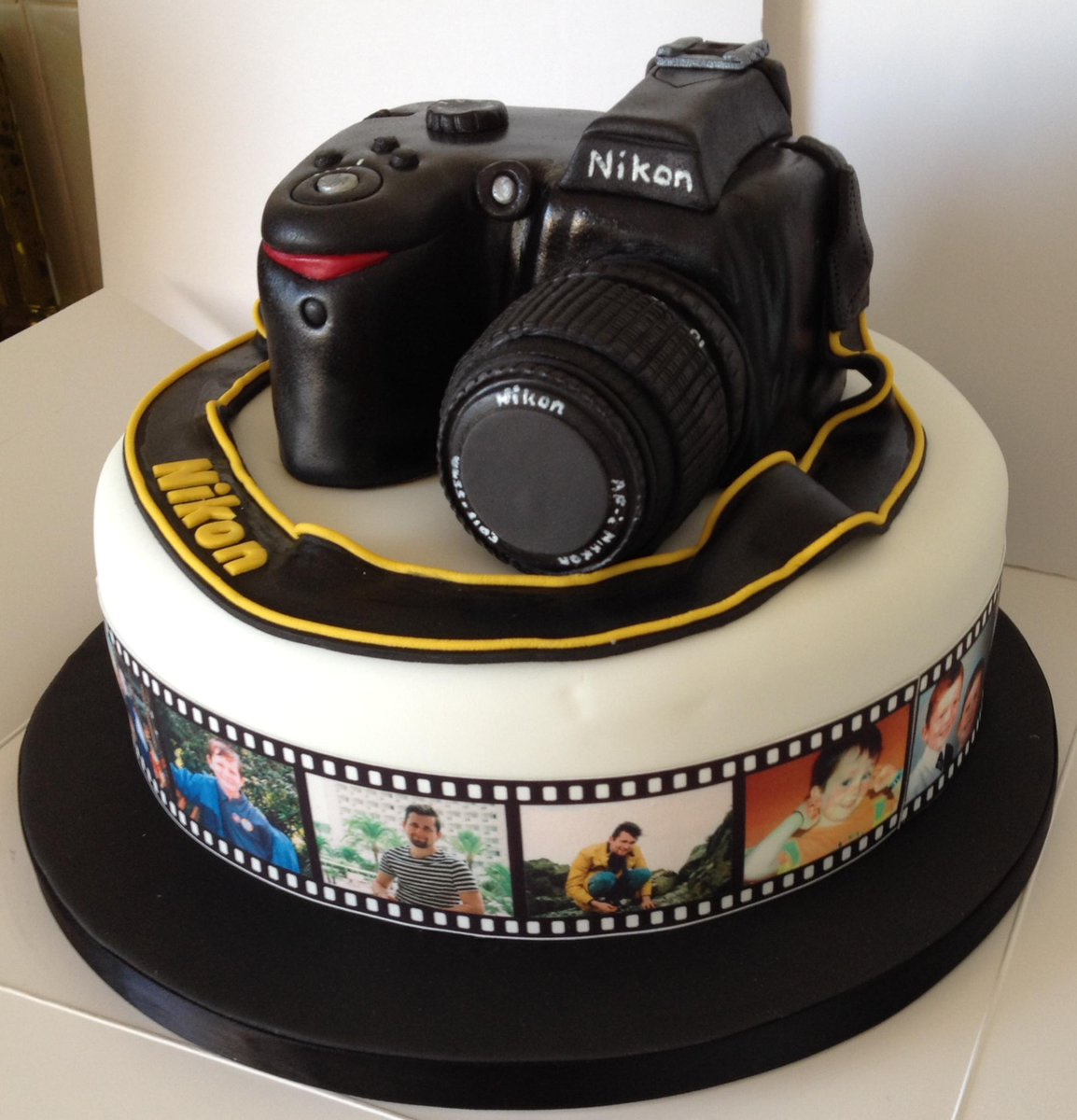 Brilliant Cake Rocks On Twitter Camera Cake Camera Photography Cake Personalised Birthday Cards Vishlily Jamesorg
