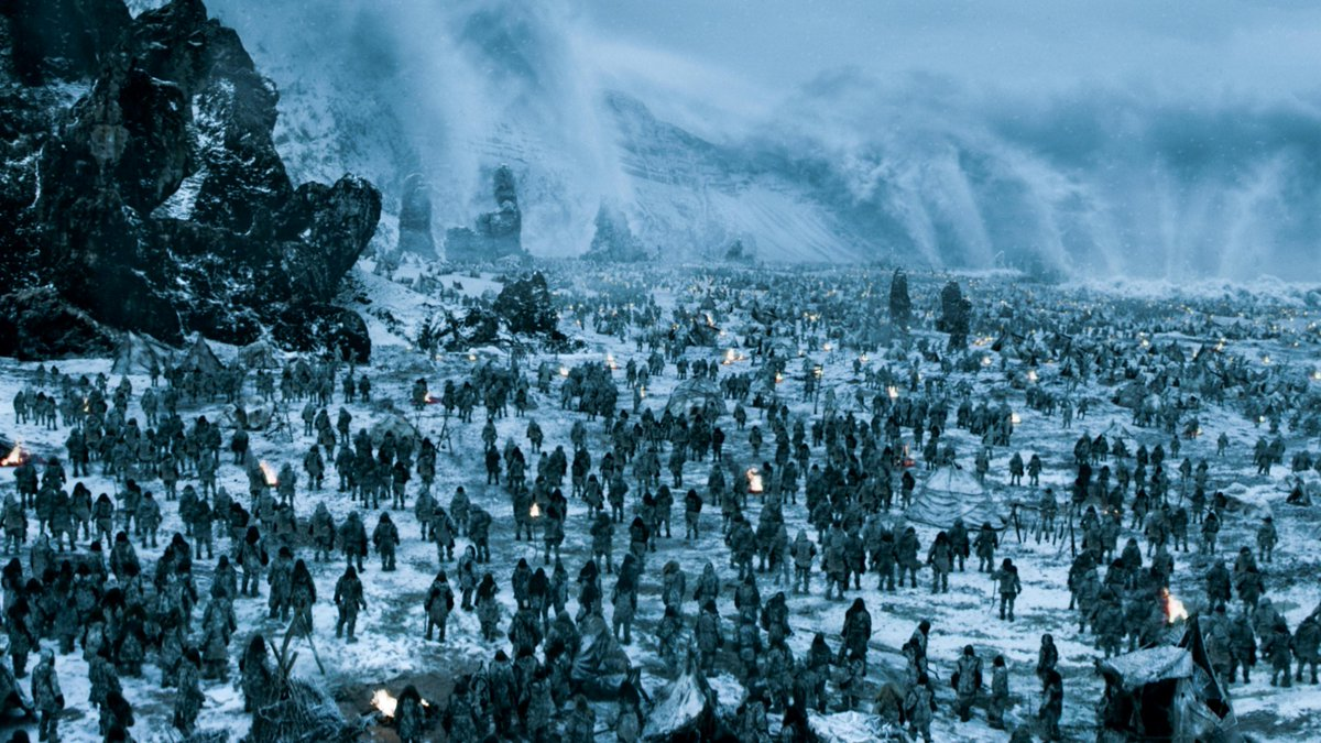 Is #Hardhome the best #GameofThrones episode ever? TotH members are giving it a series-high 9.35 score http://t.co/8ca45wT5om
